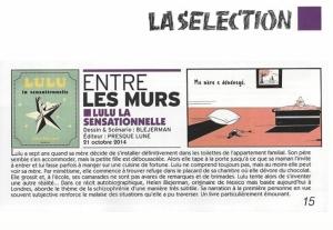 Sélection Canal BD presse