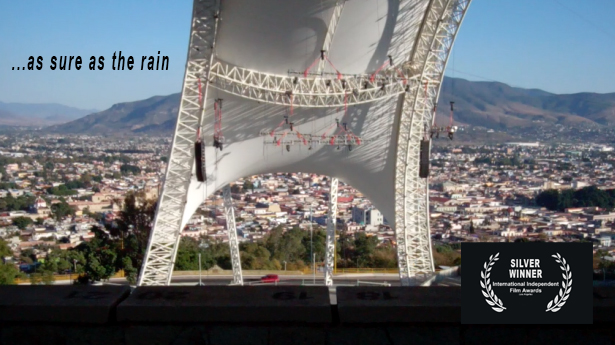 As sure as the rain